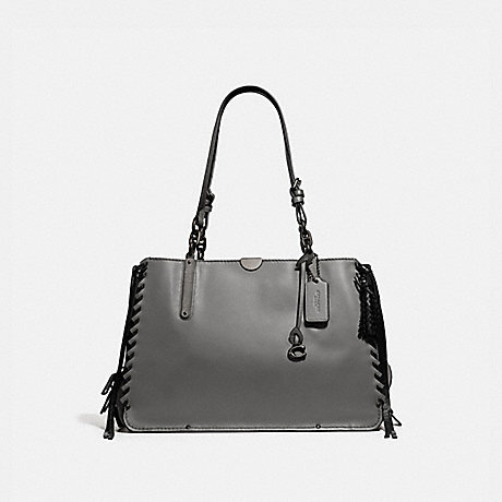 COACH 39235 DREAMER TOTE 36 HEATHER-GREY/PEWTER