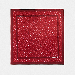 COACH 39386 - VALENTINE PRINT SQUARE 1941 RED