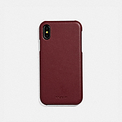 COACH 39450 - IPHONE XR CASE RED CURRANT