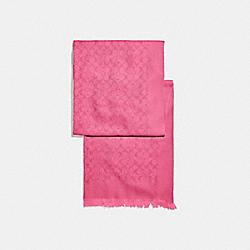 COACH 39578 - SIGNATURE STOLE CONFETTI PINK