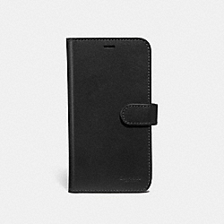 COACH 39595 - IPHONE X/XS FOLIO BLACK