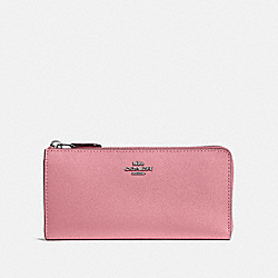 COACH 39746 - L-ZIP WALLET GM/TRUE PINK
