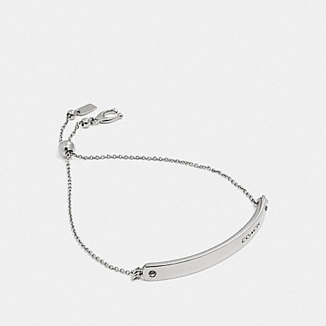 COACH 39773 BAR SLIDER BRACELET SILVER