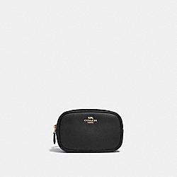 COACH 39938 - BELT BAG BLACK/GOLD