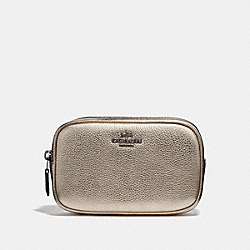 COACH 39940 - BELT BAG PLATINUM/GUNMETAL