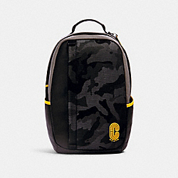 COACH 4001 - EDGE BACKPACK WITH CAMO PRINT QB/BLACK MULTI