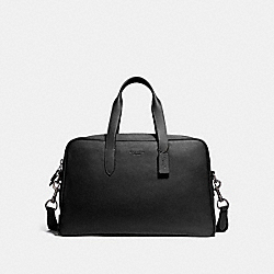 COACH 40459 - METROPOLITAN SOFT CARRYALL BLACK/BLACK ANTIQUE NICKEL