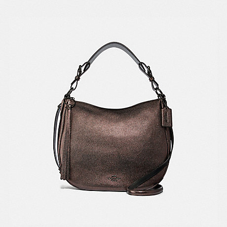 COACH 40632 SUTTON HOBO GUNMETAL/METALLIC-GRAPHITE