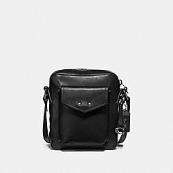 COACH 41393 Jaxson Bag 18 BLACK/BLACK COPPER