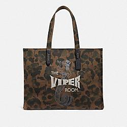 COACH 41400 Viper Room Tote 42 With Wild Beast Print JI/DARK GREEN WILD BEAST