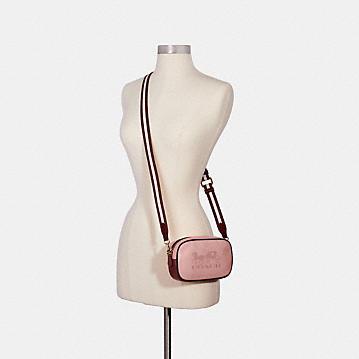 コーチ公式アウトレット | ジェス コンバーチブル ベルト バッグ カラーブロック ホース アンド キャリッジ | ミニバッグ/ボディバッグ/ベルトバッグ