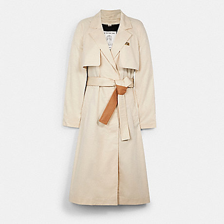 COACH MINIMAL TRENCH - PORCELAIN - 4211