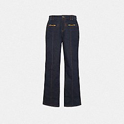 COACH 42796 Denim Trousers DENIM