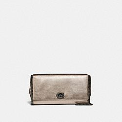 COACH 43023 - ALEXA TURNLOCK CLUTCH V5/PLATINUM