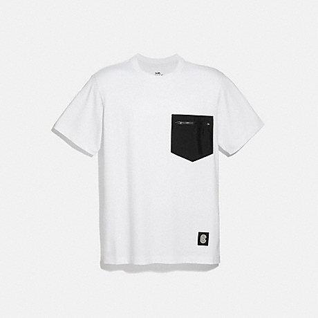 COACH 4402 ESSENTIAL T-SHIRT WHITE BLACK