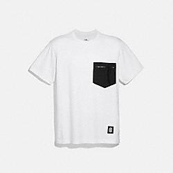 ESSENTIAL T-SHIRT - 4402 - WHITE BLACK