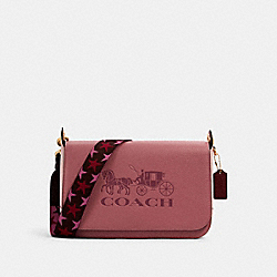 COACH 4521 - JES MESSENGER IN COLORBLOCK IM/ROSE MULTI