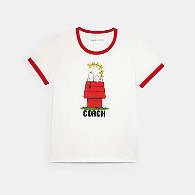 COACH X PEANUTS スヌーピー Tシャツ