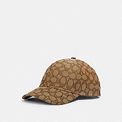 COACH 4855 - HAT IN SIGNATURE JACQUARD KHAKI