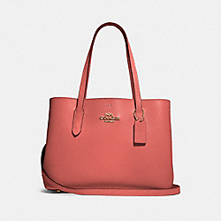 COACH 48733 Avenue Carryall IM/BRIGHT CORAL WINE