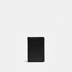 COACH 5008 Card Wallet BLACK