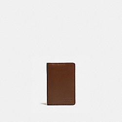 COACH 5008 Card Wallet SADDLE