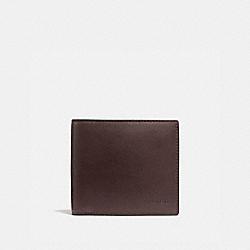 COACH 5011 - COIN WALLET MAHOGANY
