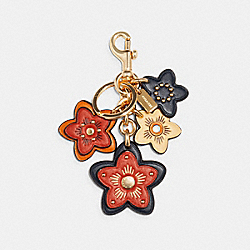 COACH 5136 - WILDFLOWER MIX BAG CHARM IM/BRIGHT GINGER MULTI