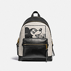 DISNEY MICKEY MOUSE X KEITH HARING ACADEMY BACKPACK - 5228 - OL/BLACK MULTI