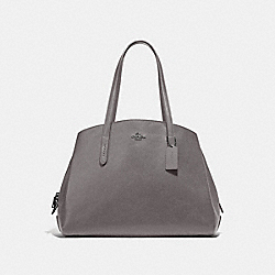 COACH 52547 Charlie Carryall 40 HEATHER GREY/GUNMETAL