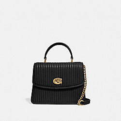 COACH 52666 Parker Top Handle With Quilting B4/BLACK