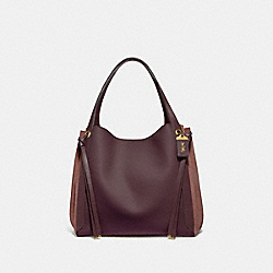HARMONY HOBO 33 IN COLORBLOCK - 53396 - OXBLOOD MULTI/BRASS