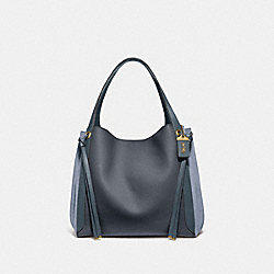 COACH 53396 Harmony Hobo 33 In Colorblock V5/MIDNIGHT NAVY