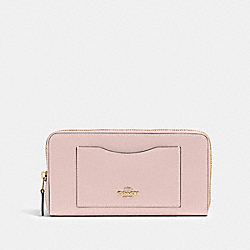 COACH 54007 Accordion Zip Wallet IM/BLOSSOM