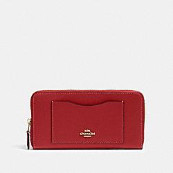 COACH 54007 Accordion Zip Wallet IM/1941 RED