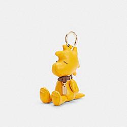 COACH 5402 Coach X Peanuts Woodstock Collectible Bag Charm IM/OCHRE