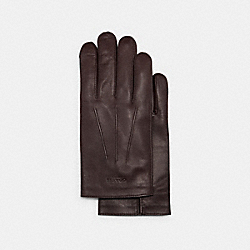 COACH 54182 - LEATHER GLOVES NEW OXBLOOD