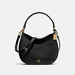 COACH 54446 Mae Crossbody BLACK/LIGHT GOLD