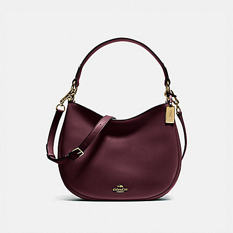 COACH 54446 MAE CROSSBODY LI/OXBLOOD