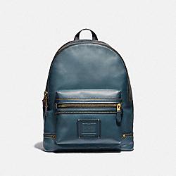 COACH 54667 Academy Backpack DENIM/BRASS