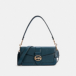 GEORGIE SHOULDER BAG - 5493 - IM/PEACOCK