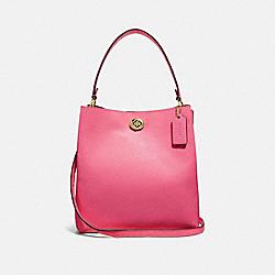 COACH 55200 - CHARLIE BUCKET BAG B4/CONFETTI PINK
