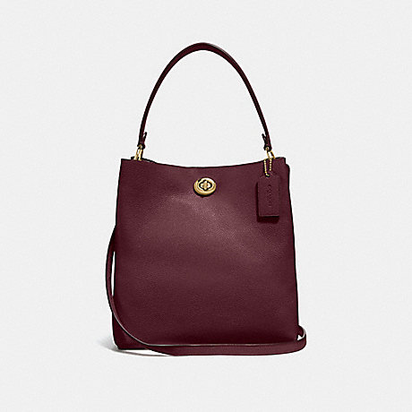 COACH 55200 CHARLIE BUCKET BAG VINTAGE-MAUVE/GOLD