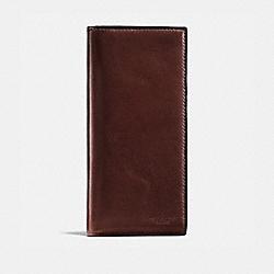 COACH 55249B Boxed Breast Pocket Wallet MAHOGANY