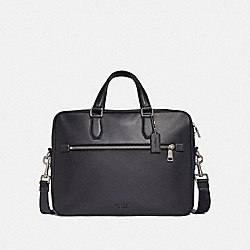 COACH 55576 Kennedy Brief 40 SV/BLACK