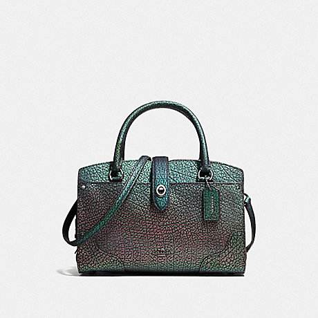 COACH 55622 MERCER SATCHEL 24 IN HOLOGRAM LEATHER DK/HOLOGRAM