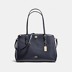 COACH 55681 - TURNLOCK CARRYALL NAVY/LIGHT GOLD