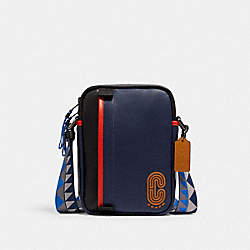COACH 5626 North/south Edge Crossbody QB/COBALT MULTI