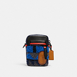 COACH 5630 Edge Hybrid Crossbody With Geo Print QB/BLUE MULTI