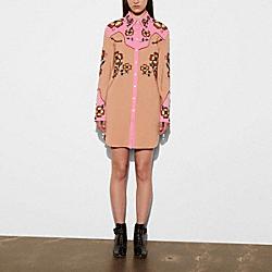COACH 56473 - WESTERN DRESS PINK